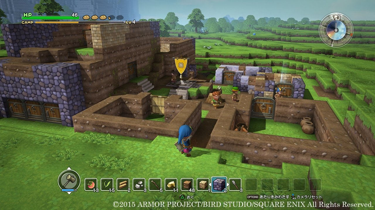 Dragon quest builders coarse cloth guide where to find for Finding a builder