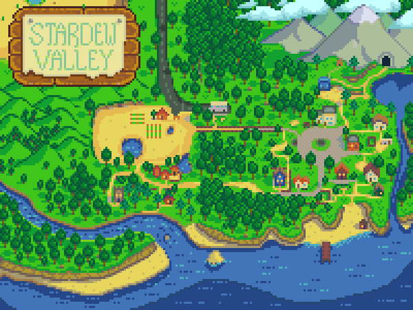 Stardew Valley - Where to Find All Villager NPCs