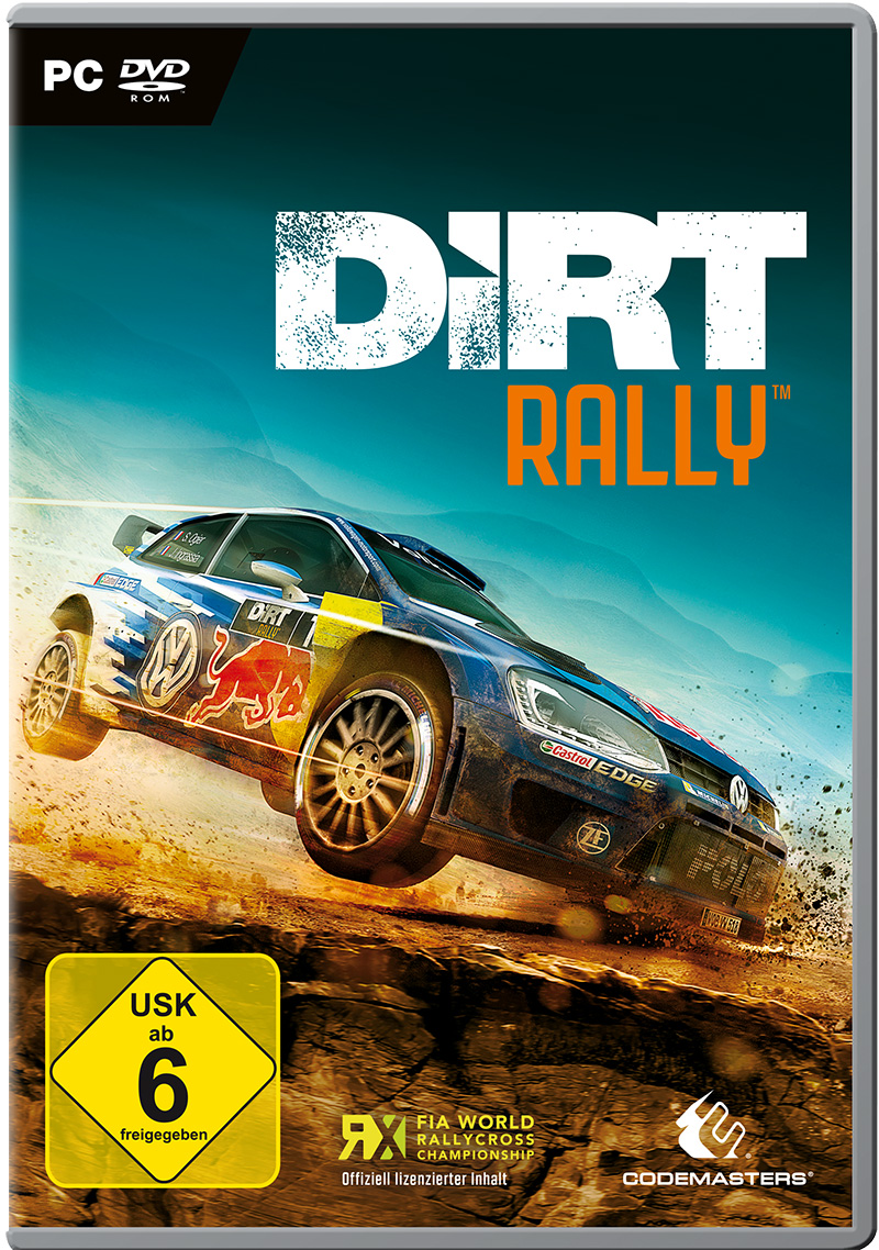 Box art - DiRT Rally