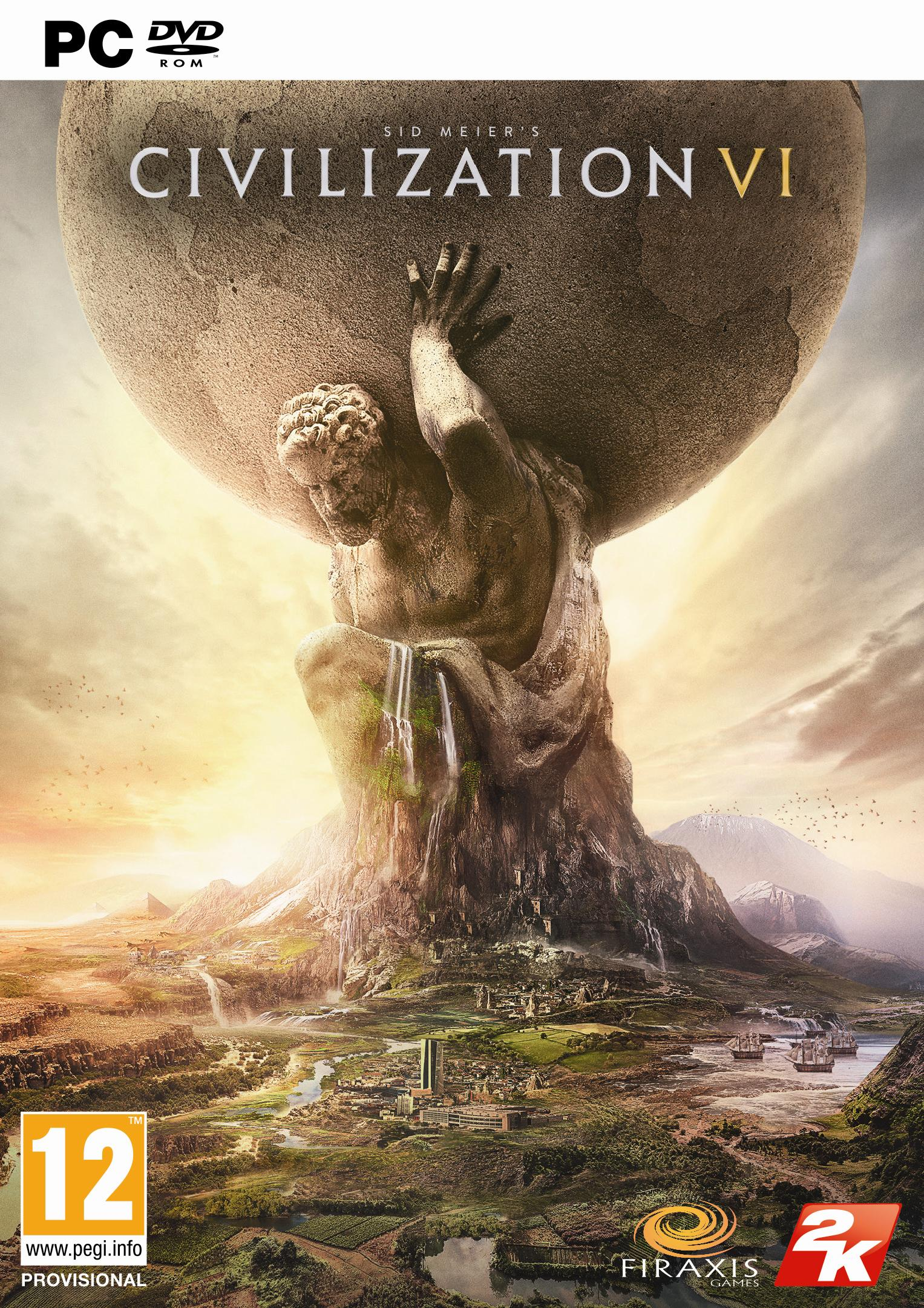 Box art - Sid Meier's Civilization VI