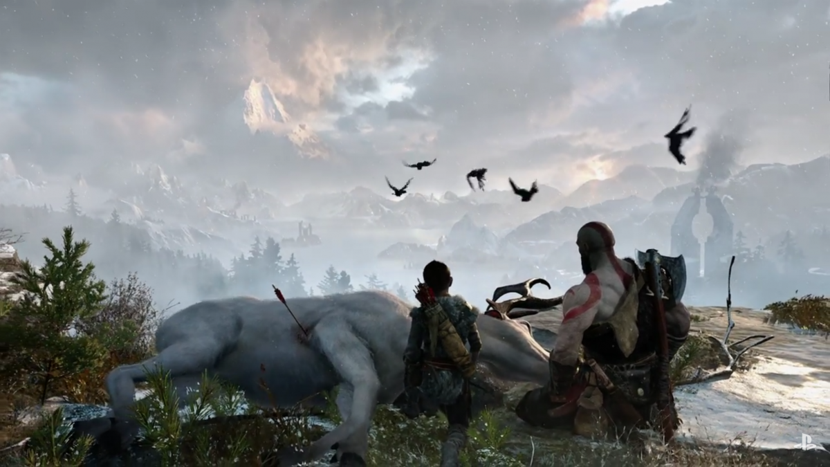 Who is Kratos Wife in God of War 4?