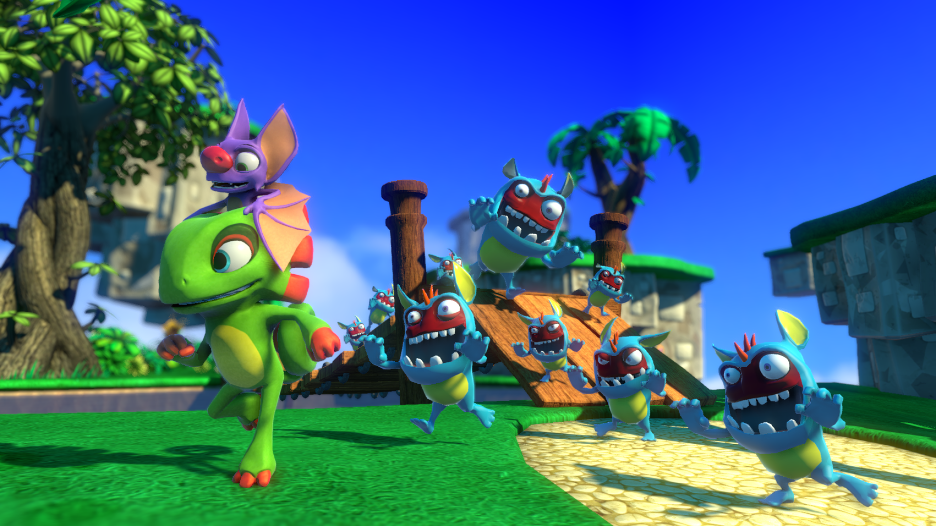 e3 2016 how yooka laylee is a modern day banjo kazooie gamerevolution