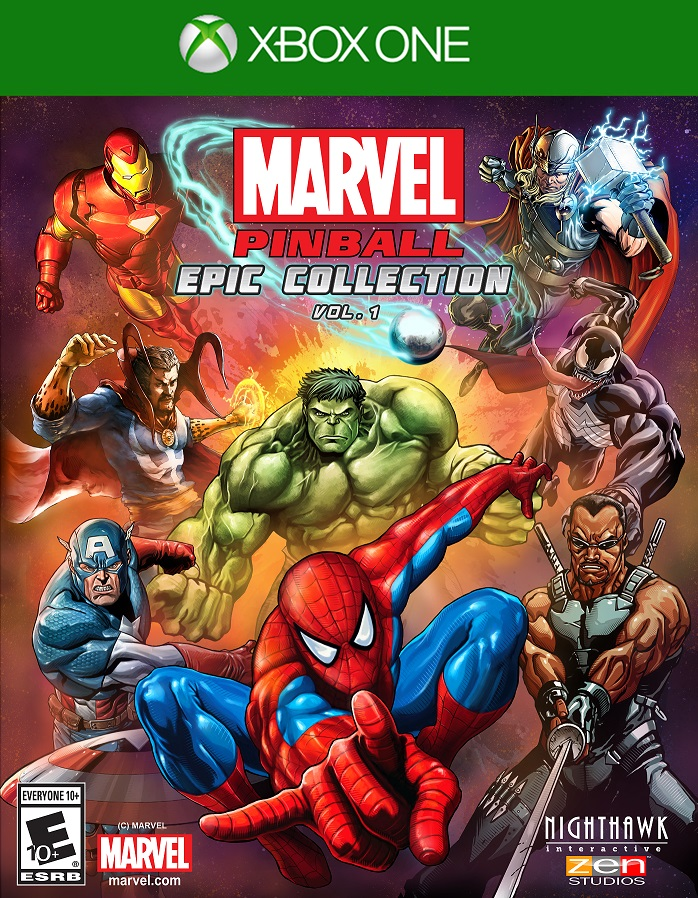 Box art - Marvel Pinball Epic Collection: Volume 1
