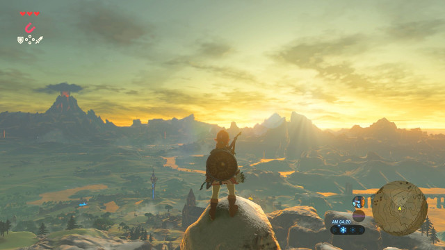Zelda breath of the wilds open world is roughly 5300 acres or zelda breath of the wilds open world is roughly 5300 acres or 15 skyrim maps gumiabroncs Choice Image