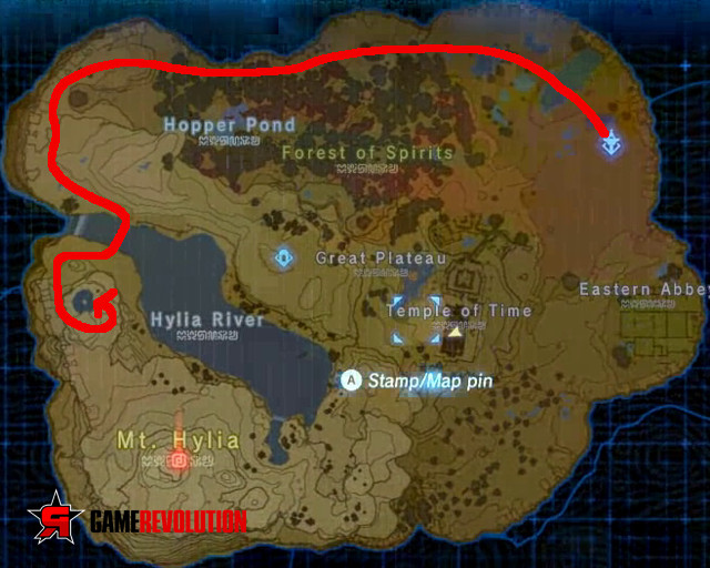 Zelda: Breath of the Wild Finding the 4th Shrine and How To
