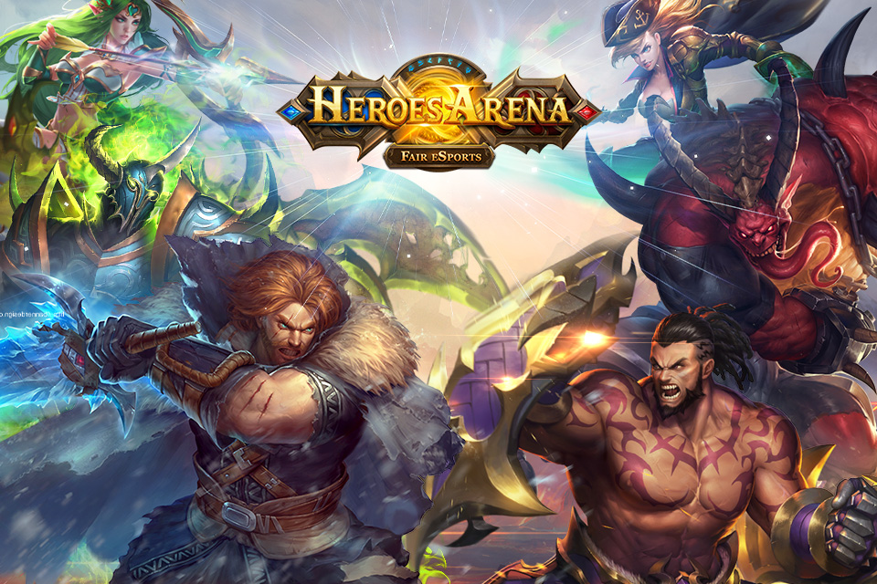 Box art - Heroes Arena