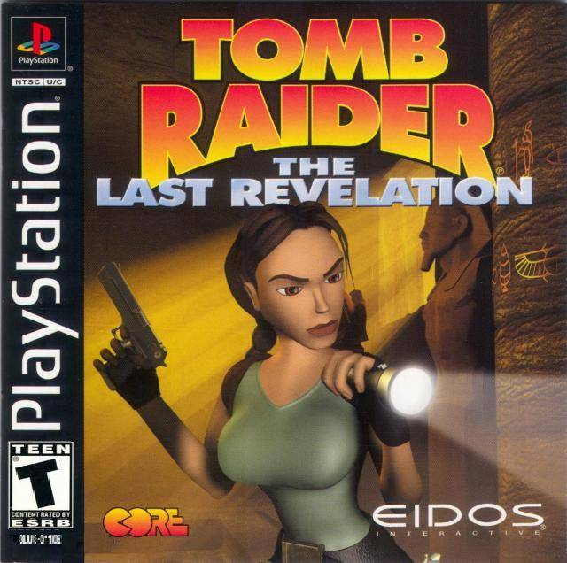 Box art - Tomb Raider: The Last Revelation
