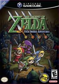 Box art - The Legend of Zelda: Four Swords Adventures