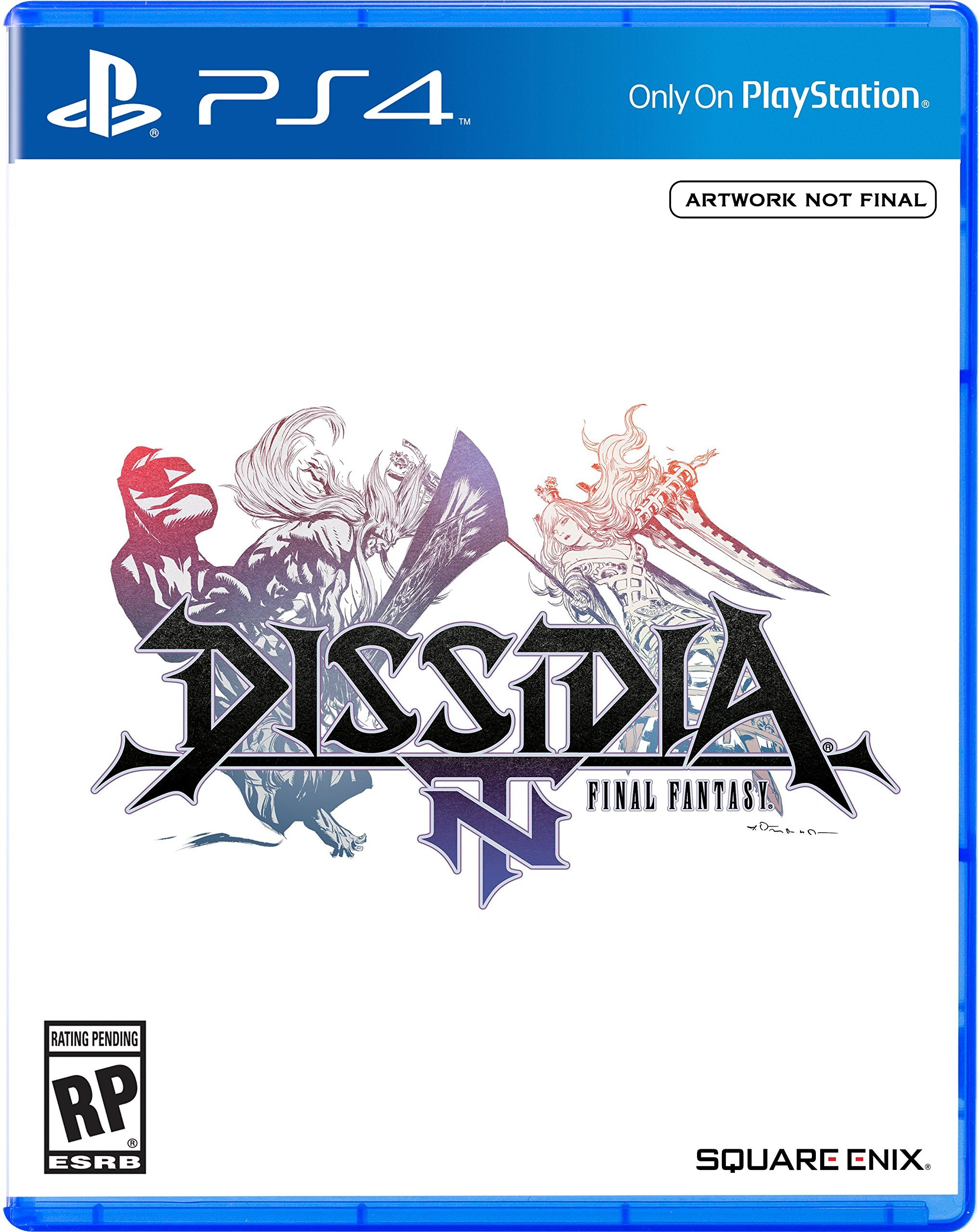 Box art - Dissidia Final Fantasy NT