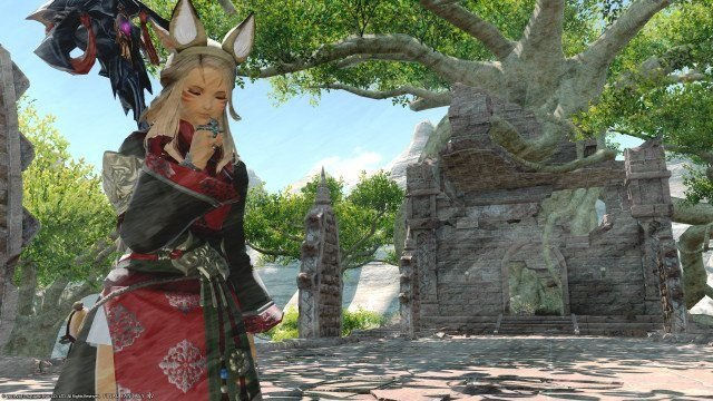 15 Beautiful FFXIV: Stormblood Screenshots Taken with Improved Group
