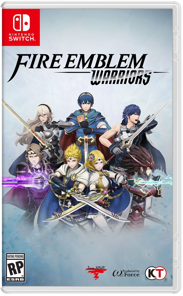 Box art - Fire Emblem Warriors