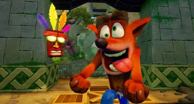 Crash Bandicoot N Sane Trilogy, Naughty Dog