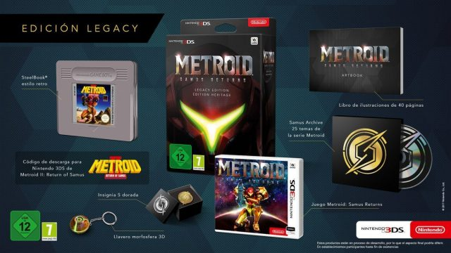 Samus Special Edition Features a Giant Game Boy Cartridge Steelbook — Metroid""