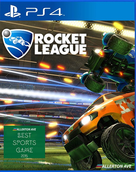 Box art - Rocket League