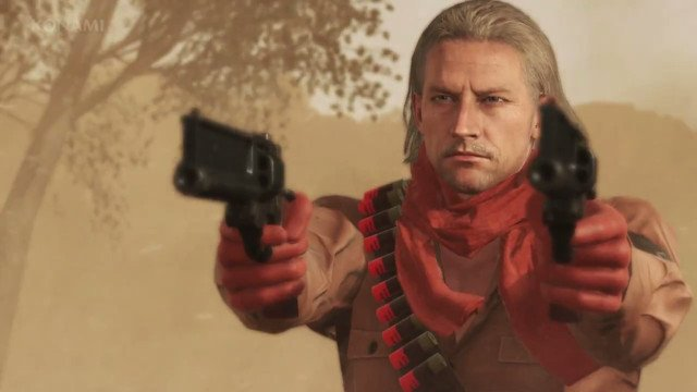 you can now play as revolver ocelot in mgsv the phantom pain