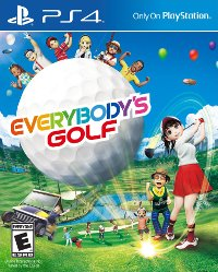 Box art - Everybody's Golf (PS4)