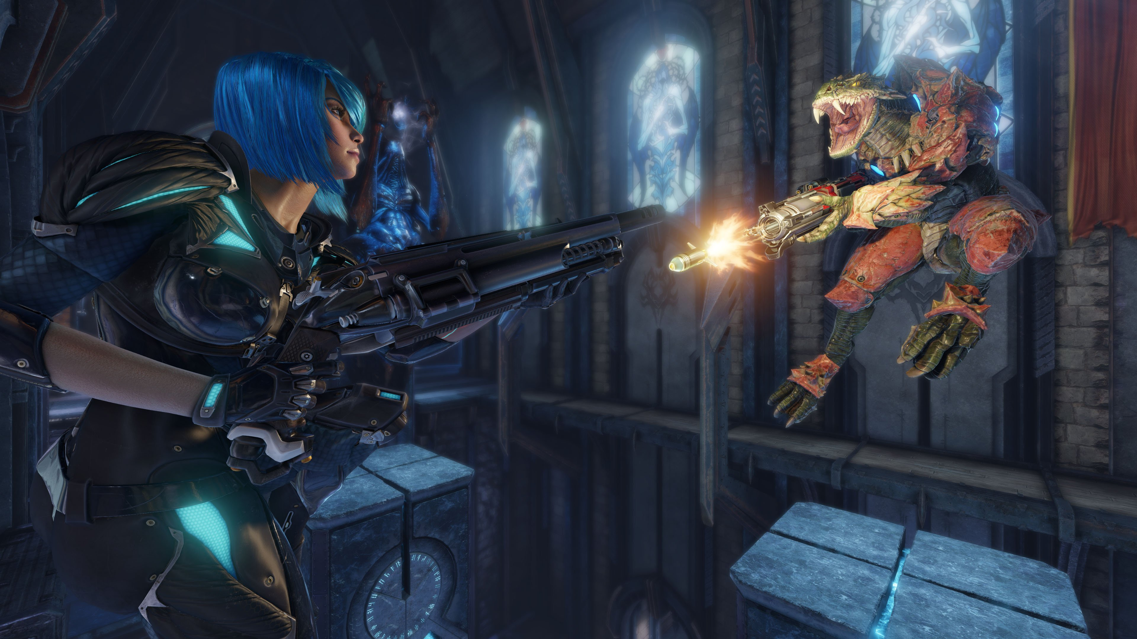 Quake Champions frags into Early Access next week