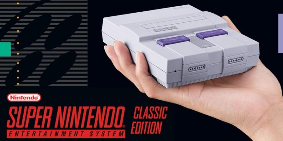 Get your first look at the Super NES Classic Edition