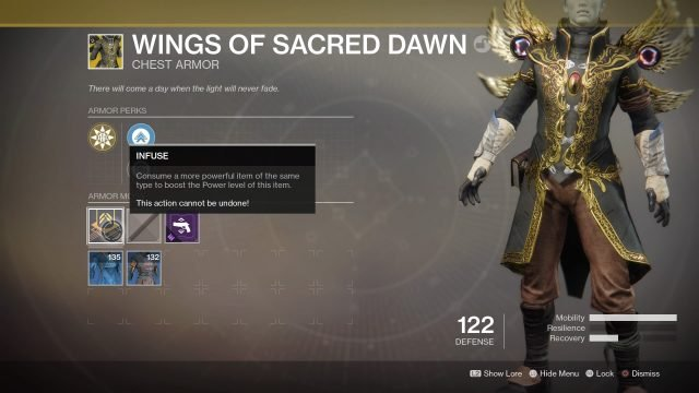 Exotic Items Are At The Crux Of Destiny 2 These Unique Highly Sought After Weapons And Armor That Have An Orange Yellow Tinge In Menu