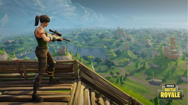 Fortnite's PUBG-Style Battle Royale Goes Free-To-Play