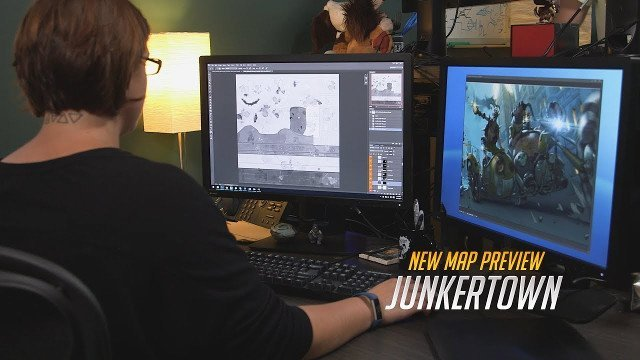 Overwatch teases Junkertown map in new behind the scenes trailer