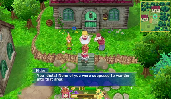 The First 10 Minutes of Footage from the Secret of Mana