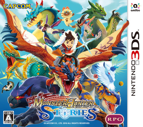 Box art - Monster Hunter Stories