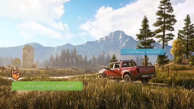 Far Cry 5 co-op trailer flaunts quad bikes, jet planes and tractors
