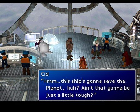 Final Fantasy VII Save the Planet