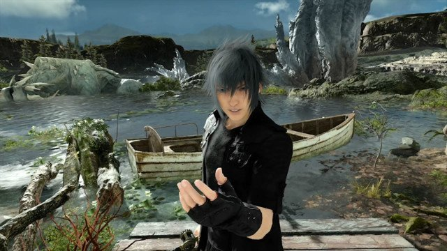 Final Fantasy XV Monster of the Deep Luminous Productions