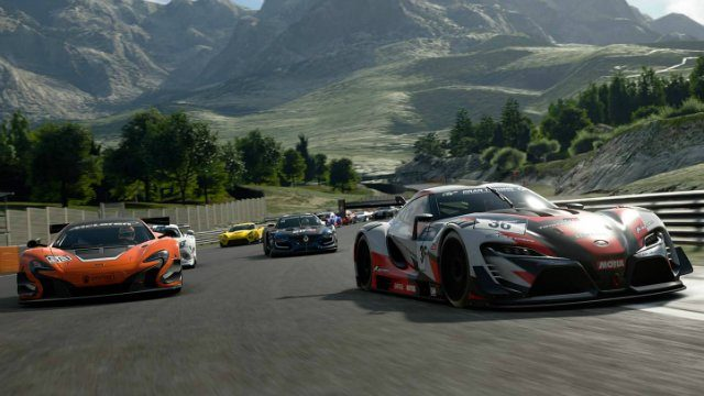 Gran Turismo Sport Review Race Up hill