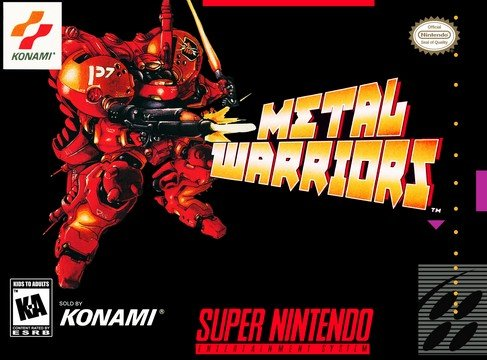 Metal Warriors Box Art