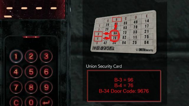 The Evil Within 2 Union Security Card Using It For The B