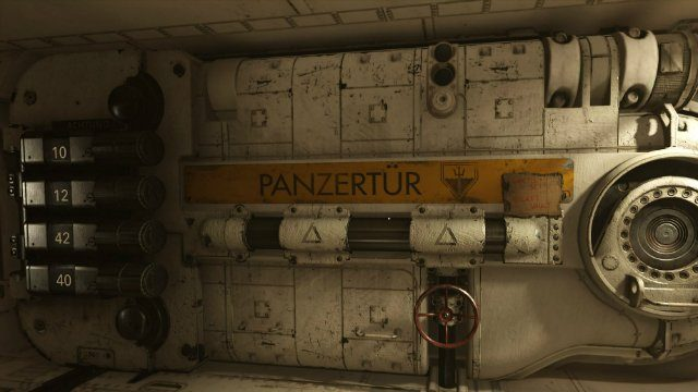 Wolfenstein 2 Submarine Vault Door
