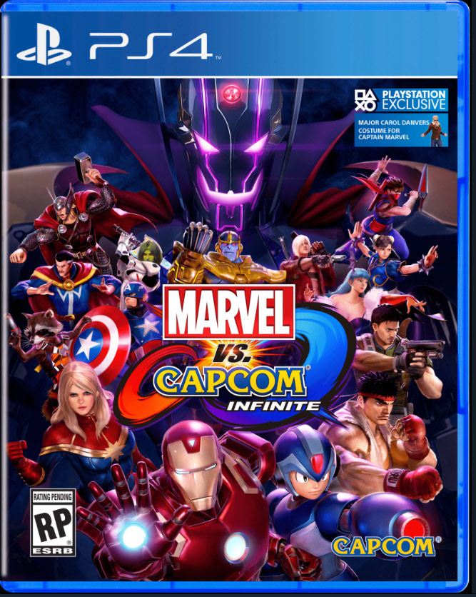 Box art - Marvel vs. Capcom: Infinite