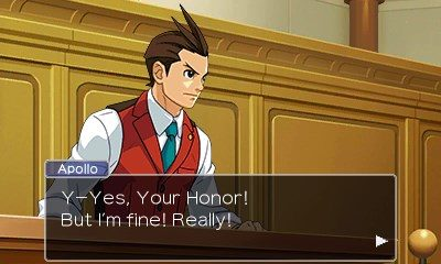 Apollo Justice Ace Attorney 3DS
