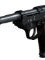 Call of Duty WW2 Walther P38 Angled