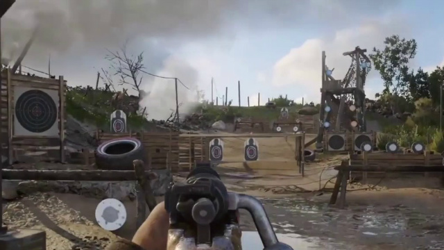 CoD WW2 Firing Range Sequences