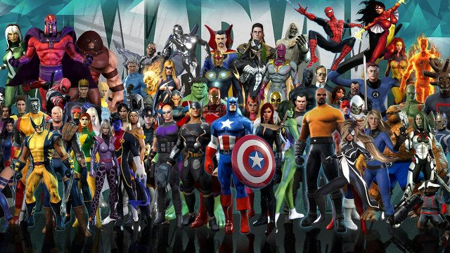 Marvel Heroes Gazillion Entertainment