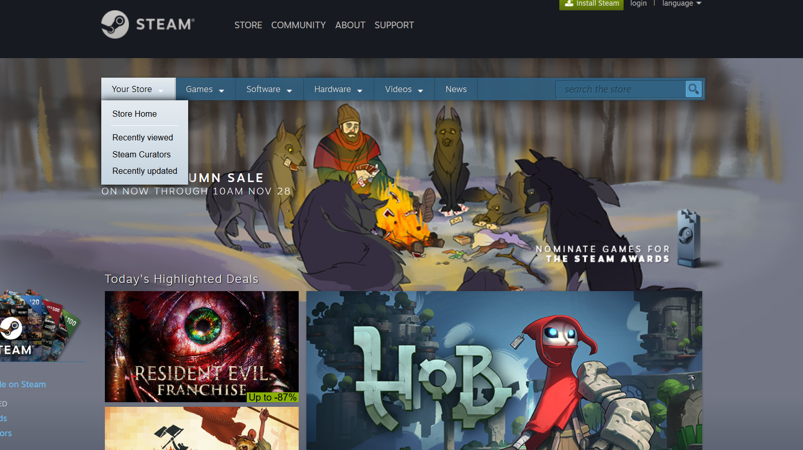 Steam Autumn Sale 2017 - all the best deals