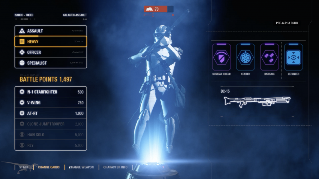 Star Wars Battlefront 2 Weapons