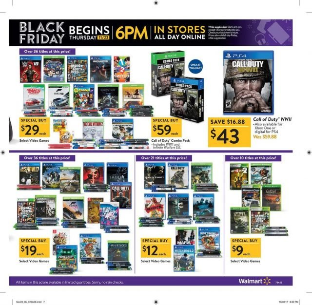 All Black Friday 2017 Ads Walmart, Target, Best Buy and more
