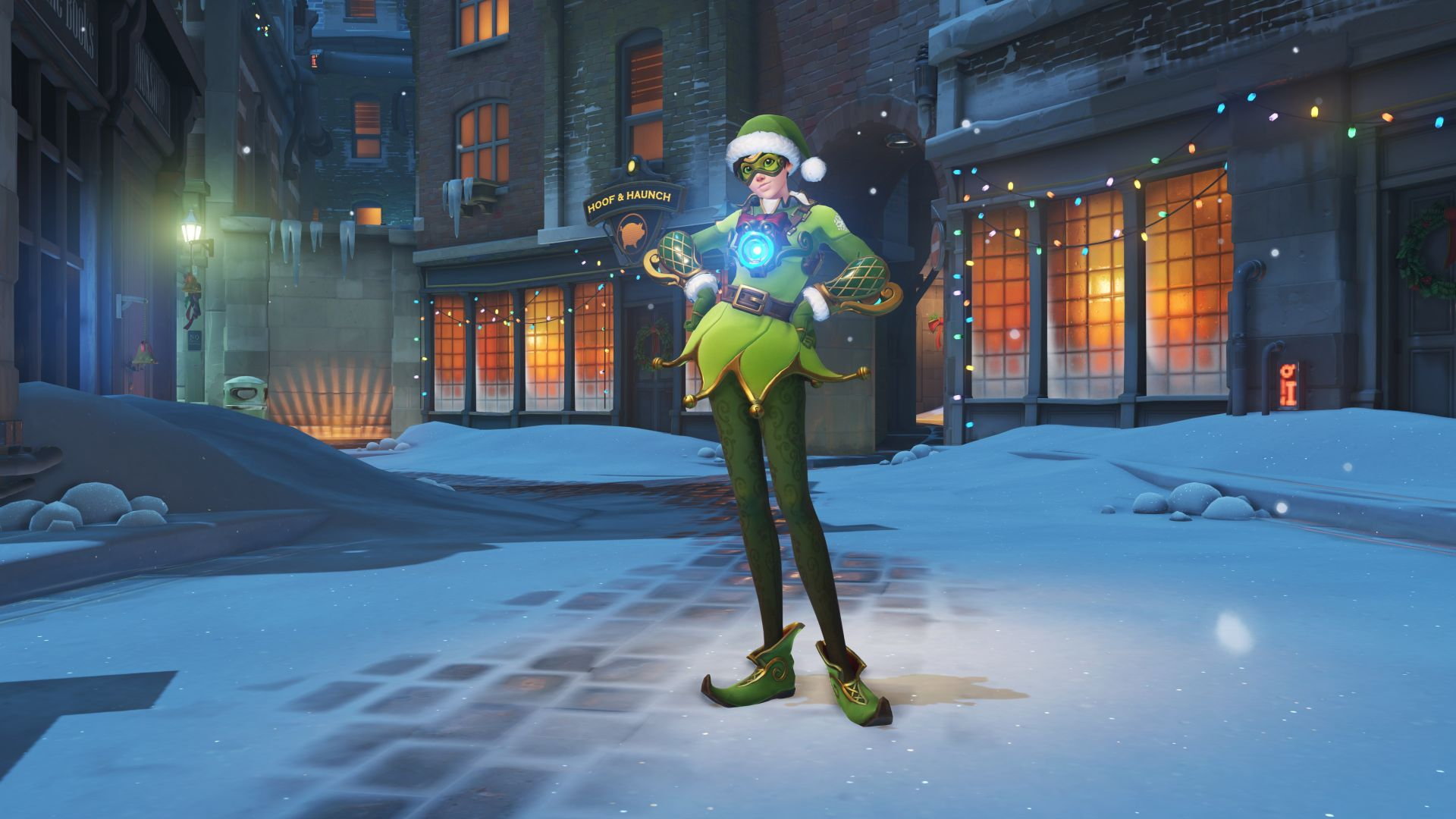 Overwatch Winter Event 2017 Tracer skin
