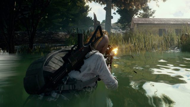 PUBG Xbox One Preview Gunshot