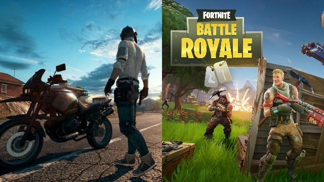 PUBG vs Fortnite BR