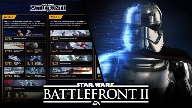 Star Wars Battlefront 2 Update 1.05 The Last Jedi DLC