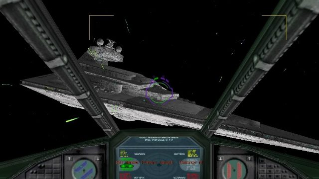 Star Wars X-Wing Alliance Star Destroyer