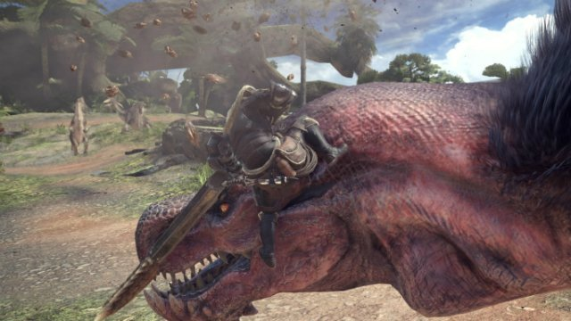 Monster Hunter World How to Mount