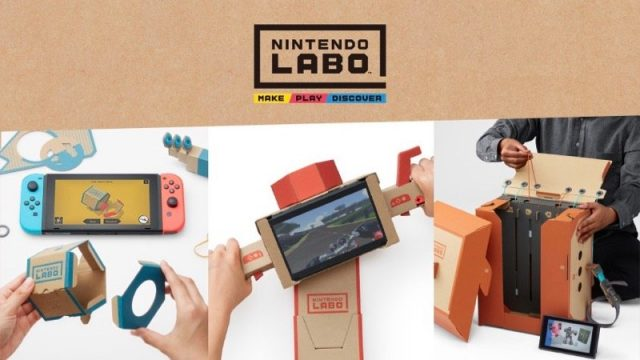 Nintendo Labo Switch VR