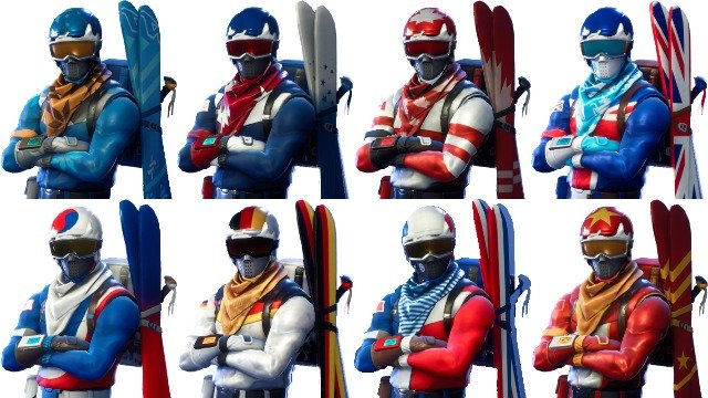 Fortnite Alpine Ace Ski Skins How to Get the New Cosmetics in Battle Royale - GameRevolution